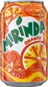 Вода Миринда (Mirinda)-Апельсин 0.33 л – ІМ «Обжора»