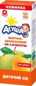 Сік Агуша 200г яблуко-абрикос з м`якоттю – ІМ «Обжора»