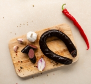 Ковбаса Глобино Кров яна копчена оригiнальна – ІМ «Обжора»