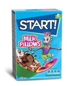 Сухий сніданок Старт 250г подушечки з молоч начинкою – ІМ «Обжора»