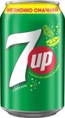 Вода 7 Up 0,33 л – ИМ «Обжора»