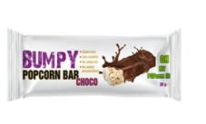 Батончик Поп Корн BUMPY БАР 32г покритий какао – ІМ «Обжора»
