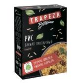 "Рис ""Трапеза""   басмати пропаренный, Гималаи, 5*80 г – ИМ «Обжора»"