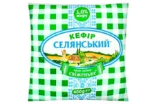 Кефир Селянский  1% 400 г – ІМ «Обжора»