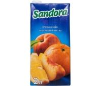Нектар Сандора (Sandora) Апельсин-Персик 2 л – ИМ «Обжора»