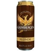 Пиво Грімберген 0,5л ж/б Блонд – ІМ «Обжора»