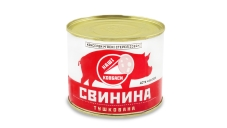 Конс, Алан 525г свинина тушкована в/г ГОСТ ж/б – ІМ «Обжора»