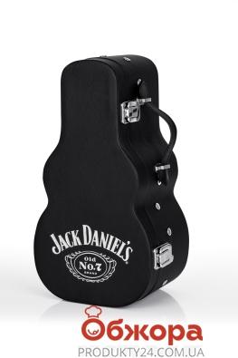 Віскі Джек Деніелс 0,7л, Гітара мет, кор, – ІМ «Обжора»