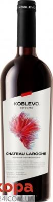 Вино Koblevo Бордо Шато Ларош 0,75л червоне н/сол – ІМ «Обжора»