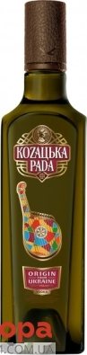 Горілка 40% Оригінальна Козацька рада 0,5 л – ІМ «Обжора»