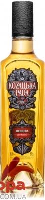 Настойка Козацька рада Перцева 0,5 л – ИМ «Обжора»
