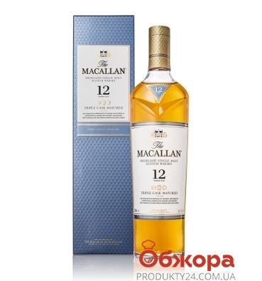 Віскі Макалан 12 років 0,7л. – ІМ «Обжора»