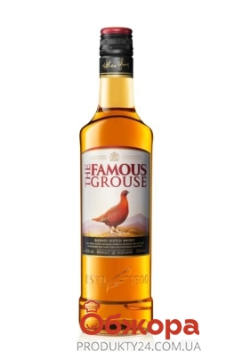 "Виски ""Феймоуз Гроуз"" The Famous Grouse, 0.5 л – ИМ «Обжора»"