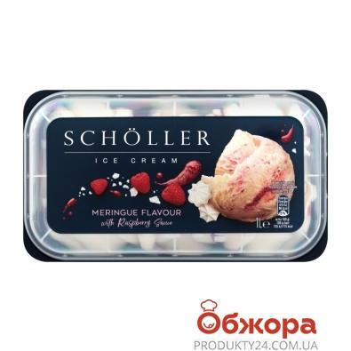 Мороженое Scholler Меренга с малиновым соусом 571 г – ИМ «Обжора»