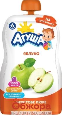 Пюре Агуша 90г яблуко – ІМ «Обжора»