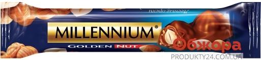 Батончик Мілленіум 40г молочний цільний горіх – ІМ «Обжора»