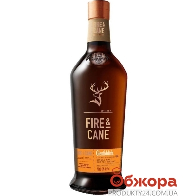 Виски Glenfiddich Fire and Cane 0,7 л – ИМ «Обжора»