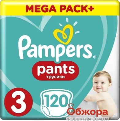 ZZZ Підгузки PG PAMPERS трусики дит. Pants Midi (6-11кг) Джамбо 60 – ІМ «Обжора»