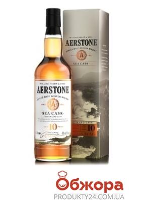 Віскі Aerstone Sea Cask 10 рокiв 0,7л – ІМ «Обжора»