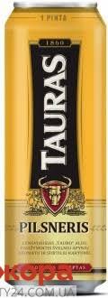 Пиво Tauras 0,568л ж/б Pilsneris – ІМ «Обжора»