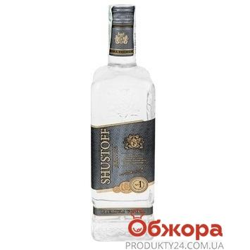 Горілка Shustoff 0,5л 40% Сильвер – ІМ «Обжора»
