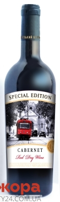 Каберне Французский бульвар красное сухое Special Edition  0.75 л – ІМ «Обжора»