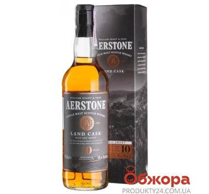 Віскі Aerstone Land Cask 10 рокiв 0,7л – ІМ «Обжора»