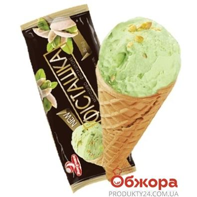 Мороженое Рожок Фисташка Ласунка 80 г – ІМ «Обжора»