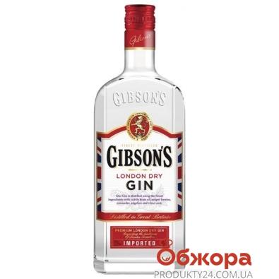 Джин Gibsons 0,7 л – ИМ «Обжора»