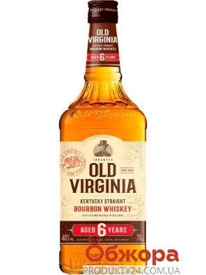 Виски бурбон Old Virginia 0,7 л – ИМ «Обжора»