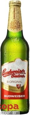 Пиво Будвайзер (Budweiser), 0.5 л – ІМ «Обжора»