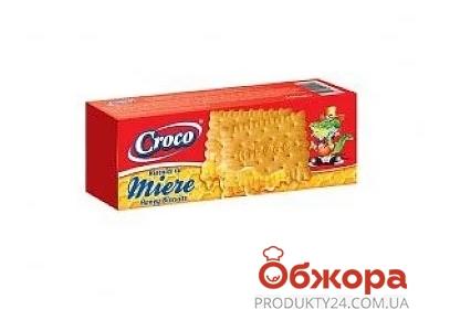 Печиво Крокко 100г галетне з медом – ІМ «Обжора»