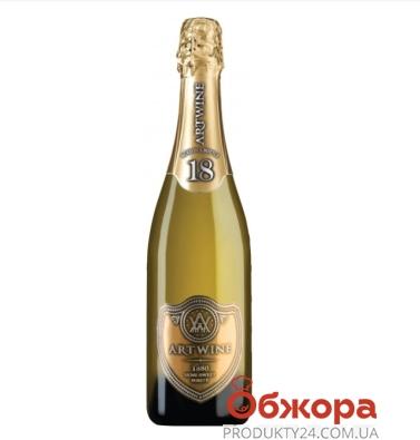Вино игристое Artwine белое полусладкое 18 месяцев 750 мл – ИМ «Обжора»