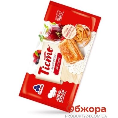 """Тесто """"Рудь"""" слоеное, 500 г – ИМ «Обжора»"""
