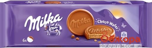 Вафли  какао в молочном шоколаде Milka 180 г – ИМ «Обжора»