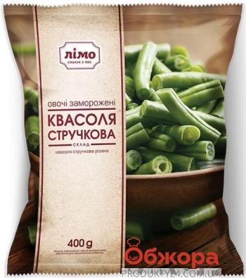 Зам. Овочі Лімо 400 г Квасоля стручкова – ІМ «Обжора»