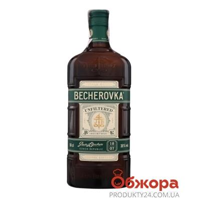 Настоянка Becherovka Unfiltered 0,5 л 38% НОВИНКА – ІМ «Обжора»