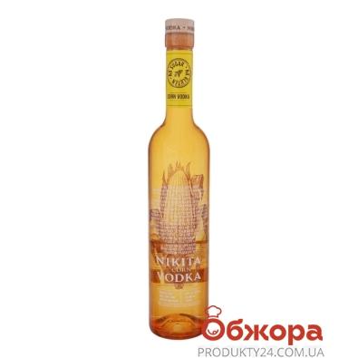 Горілка Nikita 0,5л 40% кукурудзяна НОВИНКА – ІМ «Обжора»