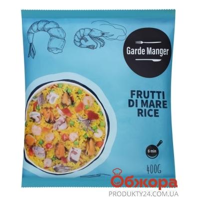 Зам. Рис Garde Manger 400 г з морепродуктами – ІМ «Обжора»