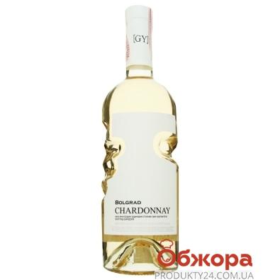 Вино Bolgrad GY Chardonnay 0,75л бiле сухе НОВИНКА – ІМ «Обжора»