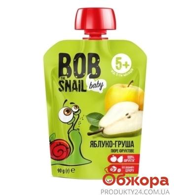 Пюре Груша - яблуко  Bob the Snail 90 г – ІМ «Обжора»