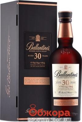Віскі Ballantine`s Very Old  30 років 0,7 л – ІМ «Обжора»