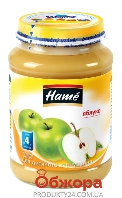 Пюре яблуко Наmе 190 г – ІМ «Обжора»