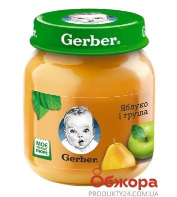 Пюре яблуко груша Gerber 130 г – ІМ «Обжора»