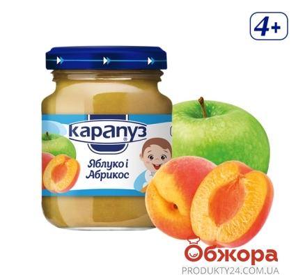Пюре  яблуко абрикос Карапуз 200 г – ІМ «Обжора»