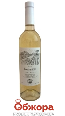 Вино біле сухе Ташбунар Private Reserve Совіньйон 0,75 л – ІМ «Обжора»