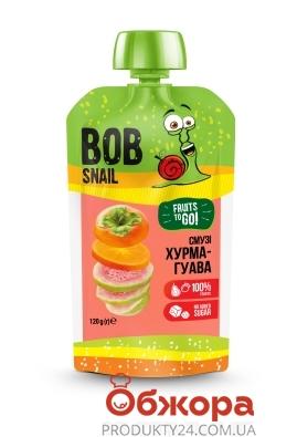 Смузі Хурма-Рожева гуава  Bob Snail 120 г – ІМ «Обжора»