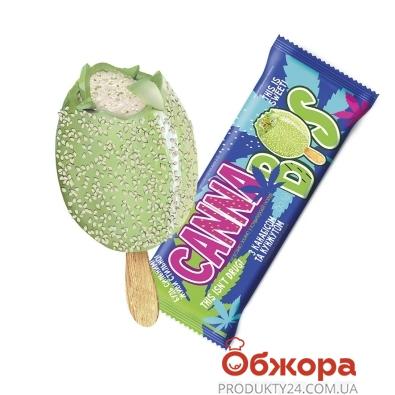 Морозиво з канабісом та кунжутом ескімо Cannabiz 80 г – ІМ «Обжора»