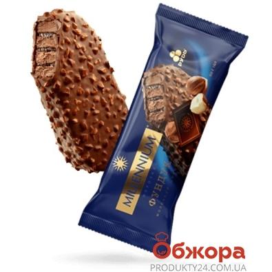 Морозиво ескімо Millennium з фундуком  Рудь 80 г – ІМ «Обжора»