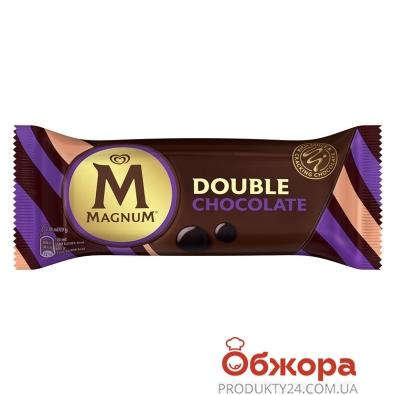 Морозиво Подвійний шоколад ескімо Magnum 69 г – ІМ «Обжора»